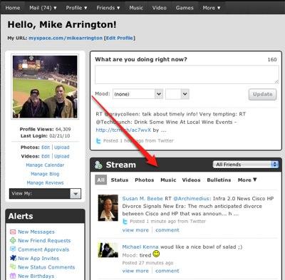 Nowa wizja MySpace - czy wystarczy by uratować tonący okręt? 1