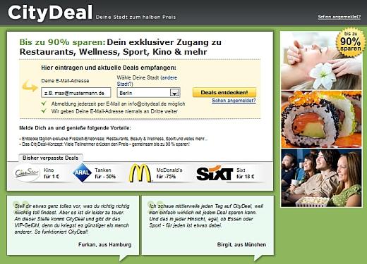 Rusza CityDeal.pl – kolejny serwis grupowych zakupów 3