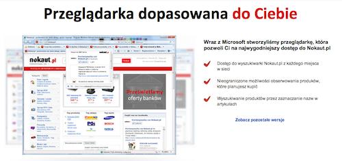 Przeglądarka internetowa od Nokaut.pl 1