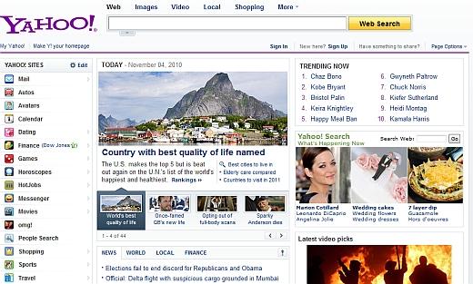 vbeta.pl: To już pewne - Yahoo! wchodzi do Polski 1