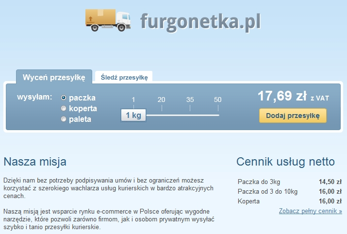 Furgonetka.pl rusza w trasę 1