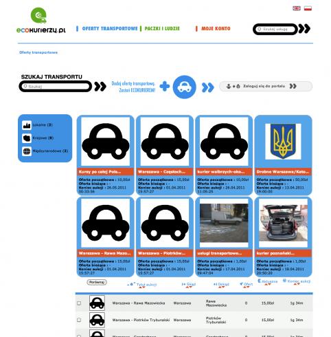 EcoKurierzy.pl - ekologiczne aukcje kurierskie 1