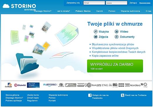 Storino – debiut polskiej chmury 1