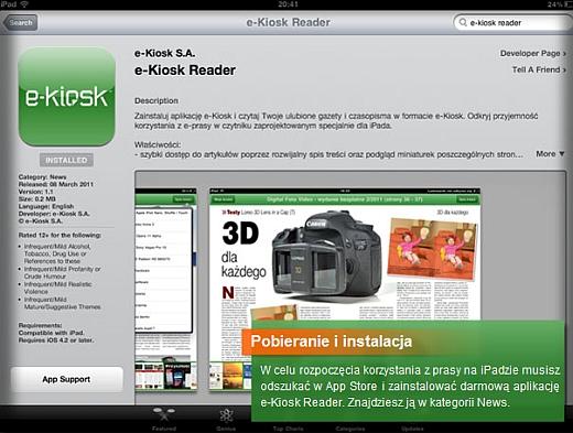 Gazety codzienne na iPada 1