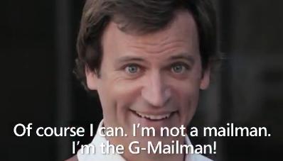 Gmail Man - Microsoft żartem krytykuje Google [wideo] 1