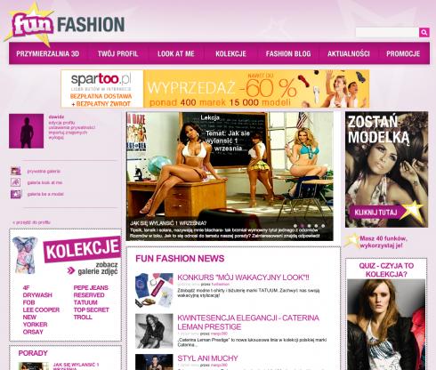 FunFashion.pl - moda, społeczność i przymierzalnia 2