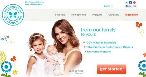 Jessica Alba dostaje miliony na e-biznes 1