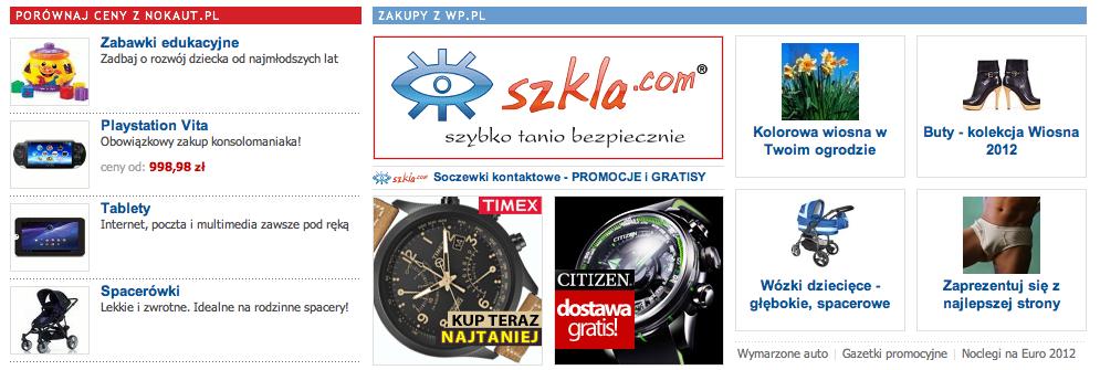 Nokaut.pl już na stronie głównej WP.PL 2