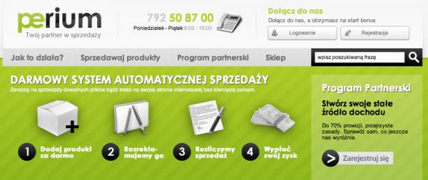 Premiera Perium.pl – serwisu do sprzedaży plików 1