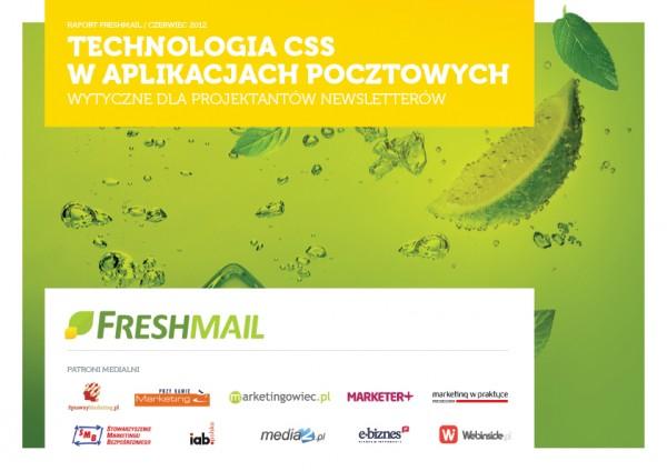 """FreshMail opublikował raport """"Technologia CSS w aplikacjach pocztowych 2012"""" 1"""