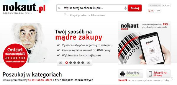Grupa Nokaut.pl również w Onet.pl 1