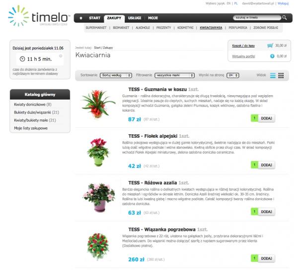 Timelo.pl – wirtualna galeria handlowa 2