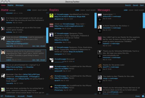 Ptasie radio, czyli pięć aplikacji dla tych, którzy lubią tweetować 4