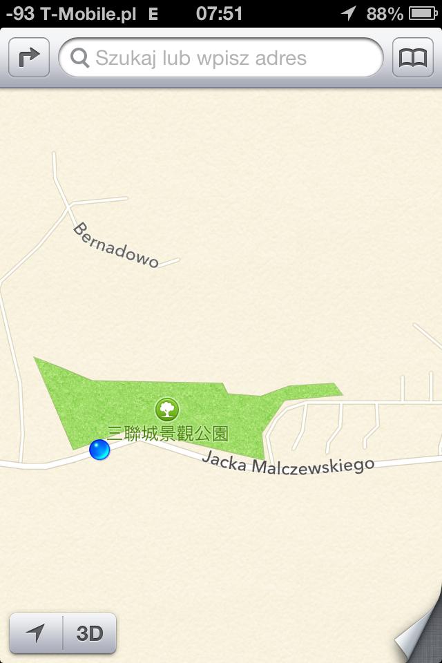 Apple! Co jest z tymi mapami? [opinie] 1