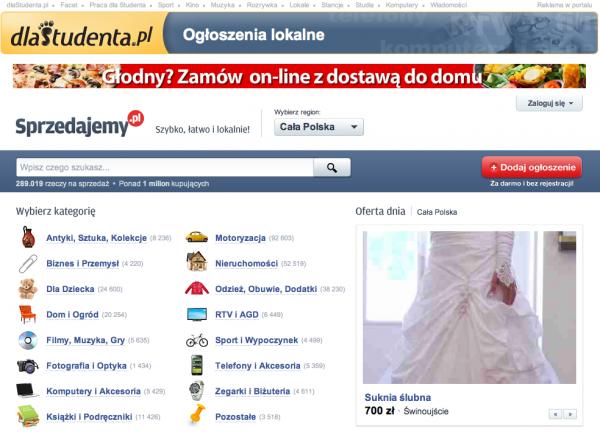 Sprzedajemy.pl dla studentów 1