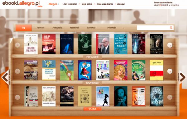 Grupa Allegro sprzedaje e-booki 1