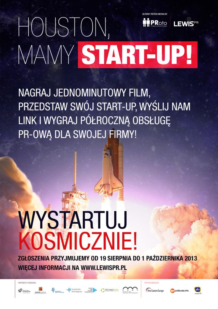 Houston, mamy start-up [plakat]