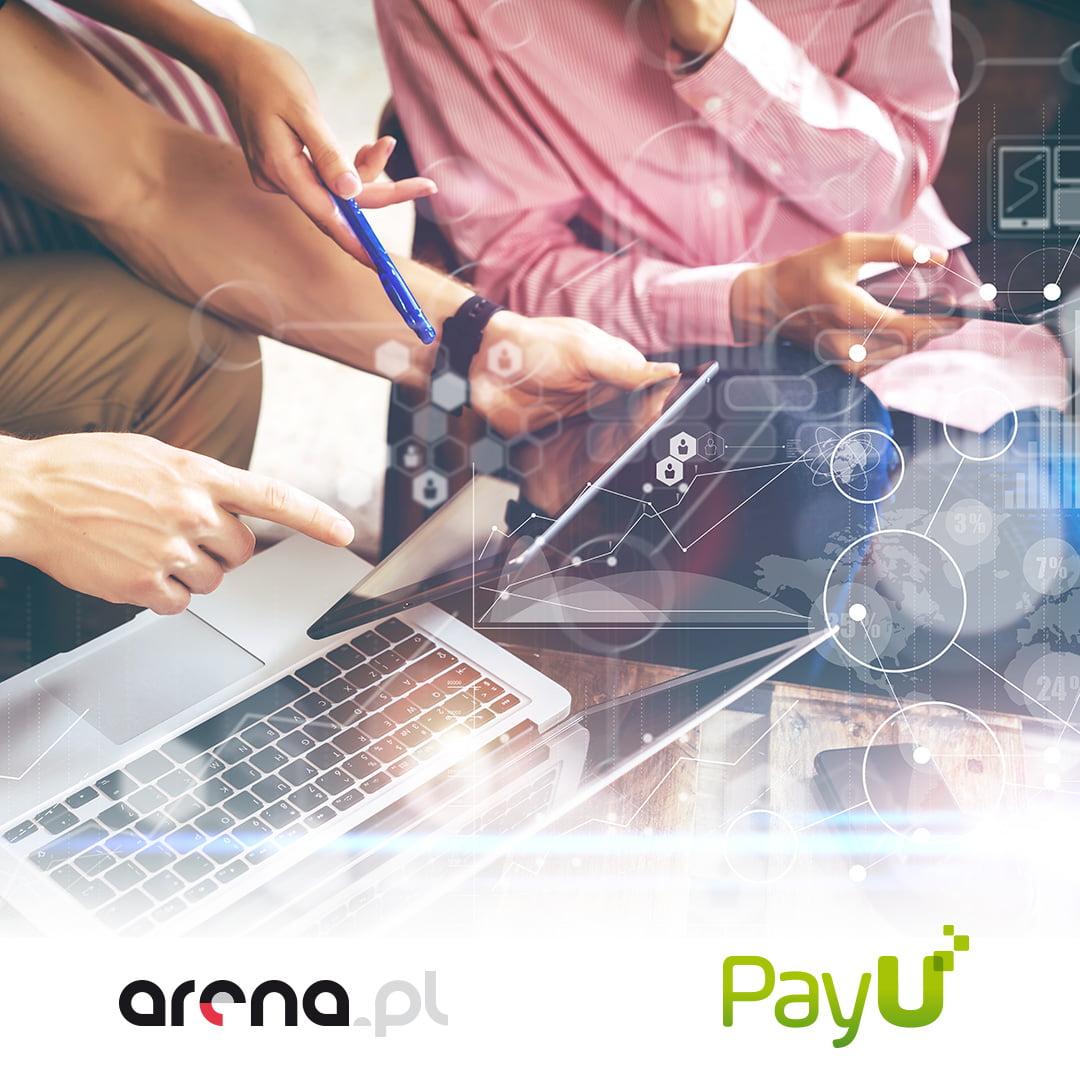 Arena.pl udostępnia płatności PayU 1