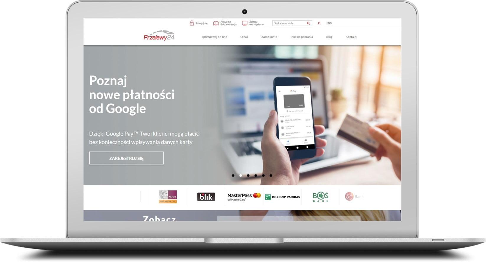 Google Pay w Przelewy24 1