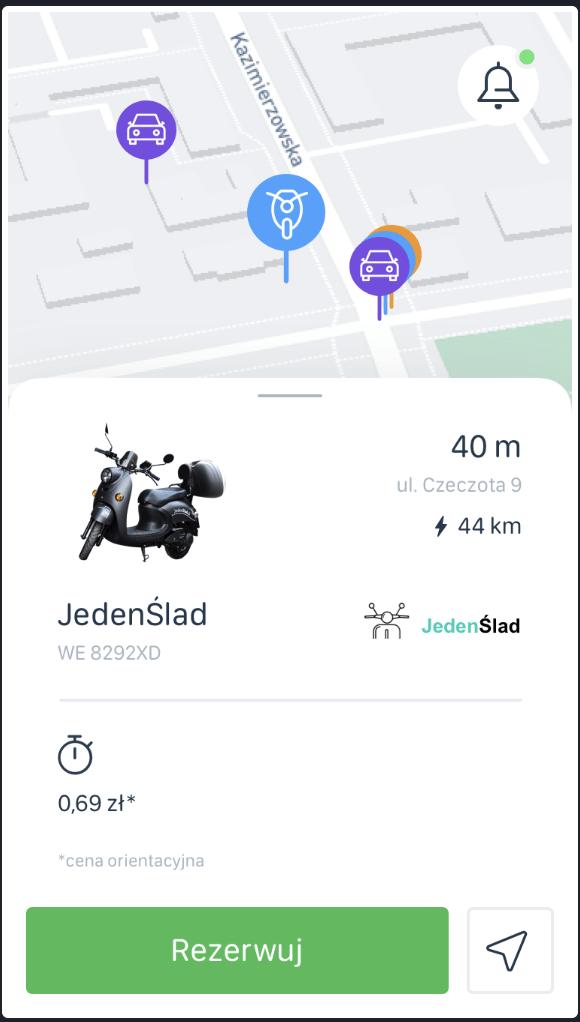 Startuje Vooom – platforma mobilna ułatwiająca poruszanie się po mieście 2