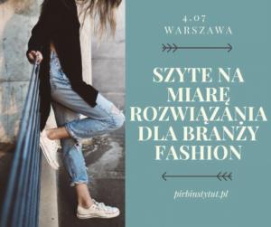 Szyte na miarę – rozwiązania dla branży fashion 1